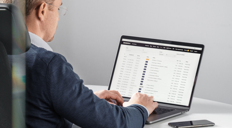 Partner desktop dashboards